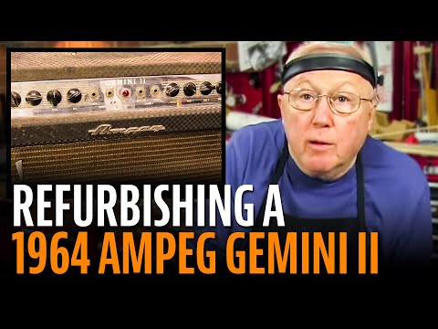 Refurbishing A 1964 Ampeg Gemini Ii video
