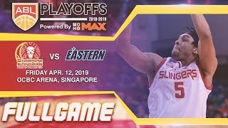 Singapore Slingers v Hong Kong Eastern | FULL GAME | 2018-2019 ASEAN Basketball League