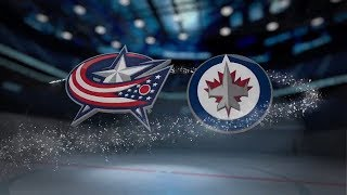 Columbus Blue Jackets vs Winnipeg Jets - October 17, 2017 | Game Highlights | NHL 2017/18 Обзор