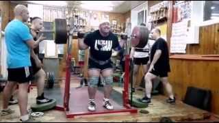 Malanichev last squat before Boss of the Bosses