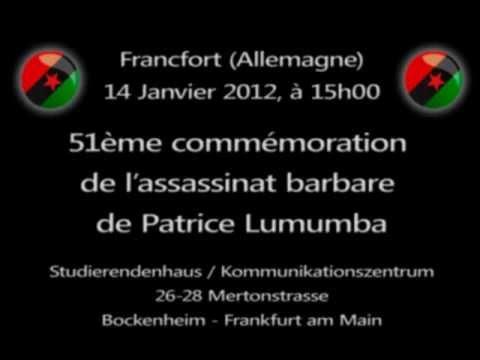 51ème commémoration de l assassinat barbare de Patrice Lumumba