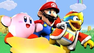 If Mario Was In... Kirby Star Allies