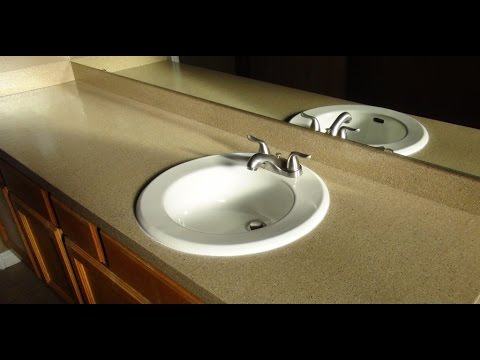 CounterTop Transformations Kit Application & Review - YouTube