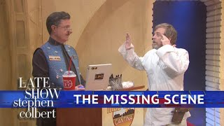 Lost 'Star Wars' Footage Of Luke Skywalker At The Cantina by : The Late Show with Stephen Colbert