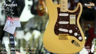 Fender Deluxe Players Strat in Honey Blonde - Quick Look