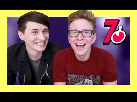 The 7 Second Challenge (ft. Dan Howell) | Tyler Oakley thumbnail