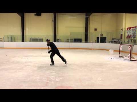 Jonathan Toews' Target Skill Shot - Keep Eye On Targets At Far Net... (video)