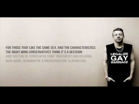 Macklemore & Ryan Lewis: Same Love feat. Mary Lambert [Lyric Video]