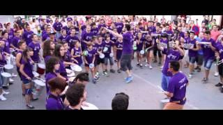 Rafa Navarro Dirige La Batucada Brasileira Del Alumnado Percufest 2014