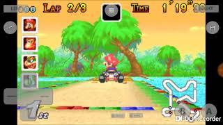 Mario kart Super Circuit Mushroom Cup Mario Gameplay