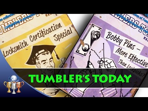 Fallout 4 Tumbler's Today Comic Book Magazine Locations (5 Issues)