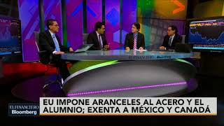 Trump impone aranceles, exenta a México y Canadá
