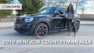2019 MINI JCW Countryman ALL4: REVIEW