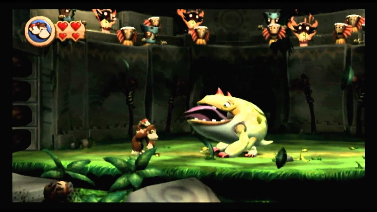 Donkey Kong Country Retro Game Room