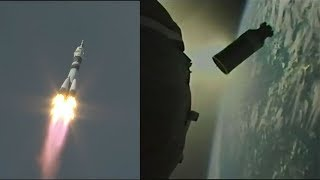 Soyuz MS-09 launch