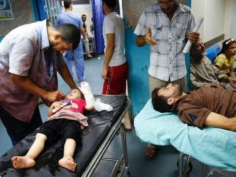 Syria News 21/7/2014 ~ GAZA, Israeli crime continues, killing 511 Palestinians
