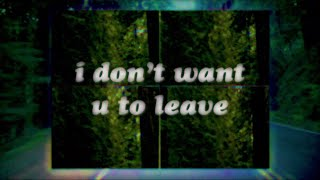 gnash - leave (official lyric video)