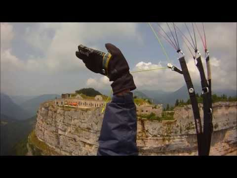 Chillout music on paragliding XC Full Flight (53km)