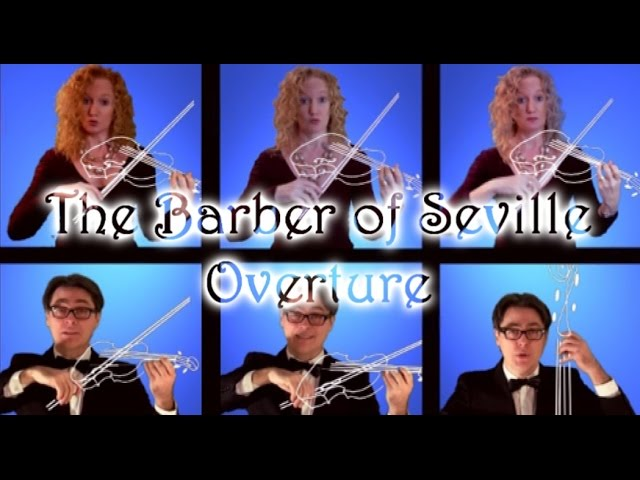 The Barber of Seville Overture - Multitrack a Cappella