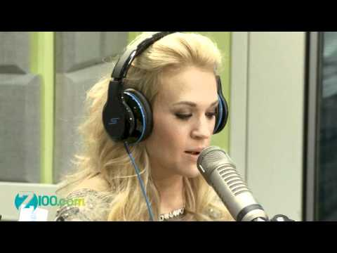 Carrie Underwood Interview @ Z100 30/04/2012