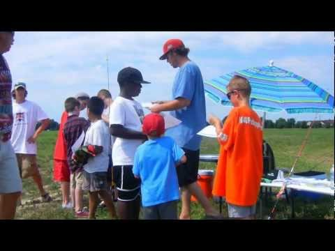 THE BASS COLLEGE KIDS FISHING TOURNAMENT .avi