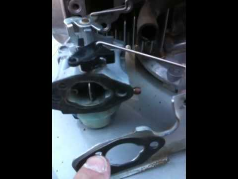 LAWNMOWER REPAIR: honda carburetor repair