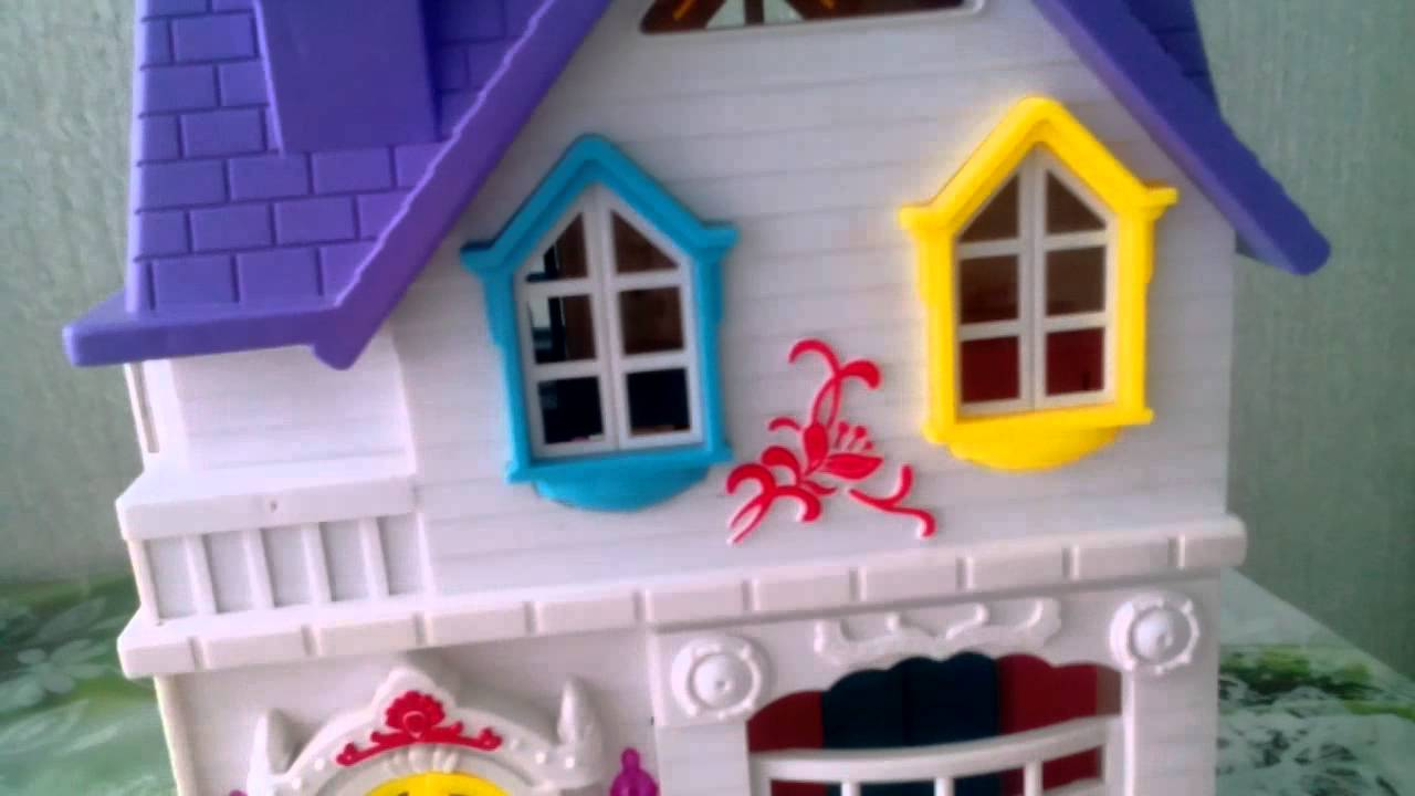Как сделать домик для игрушек из киндеров 280