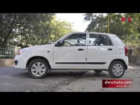 Alto K10 road test and video review - dwsAuto reviews Maruti Alto K10