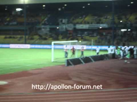 Apollon - Paok 2011 - 2012 Friendly match Music Videos