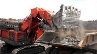 Hitachi EX8000-6 Excavator in Mozambique