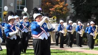 Ravenna Ravens Marching Band - Party Rock Anthem - Balloon-A-Fair 2012