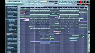 FL Studio Remake: Kirsty - Hands High (Afrojack Remix)