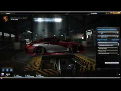 Моя машина в NFS World (Porsche 911 GT3 RS)