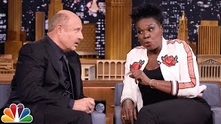 Leslie Jones Plays Truth or Lie with Dr. Phil by : The Tonight Show Starring Jimmy Fallon