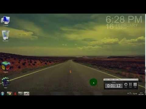 วิธีเปลี่ยนนาฬิกาบน Desktop Windows7 (Gadgets)