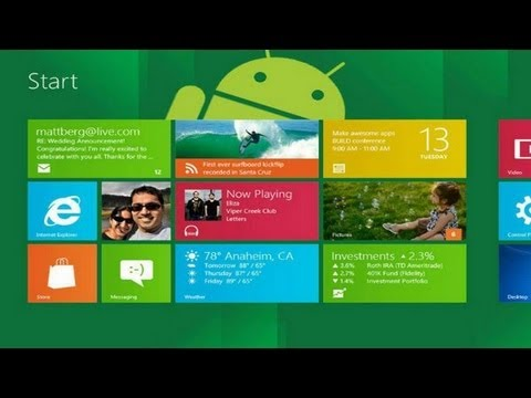 Windows 8 Launcher for Android App Review