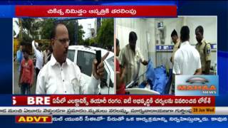 Car tier blast in Hyderabad | Two Injured