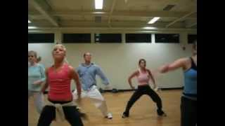 Timbaland & Fatman Scoop: Drop at 24 Hour Fitness 2002 Tari Mannello Choreography