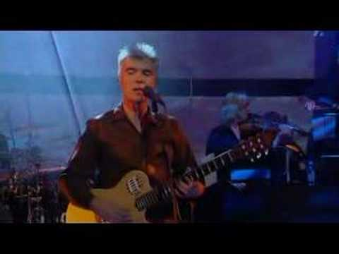 David Byrne - Glass, Concrete, Stone Live Jools Holland 2004 Video