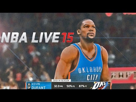 NBA LIVE 15 - OKC Thunders vs Toronto Raptors Gameplay Feat Kevin Durant & DeMar DeRozan