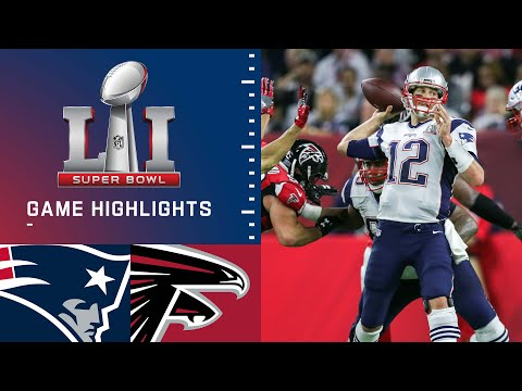 Patriots Vs Falcons Super Bowl Li Game Highlights