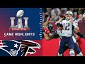 Patriots vs. Falcons | Super Bowl LI Game Highlights