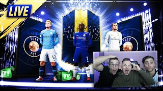 FIFA 19: 700€ TOTY packopening mit NoHandGaming und bossio. 32x 125K Sets.🙏🏻🔥