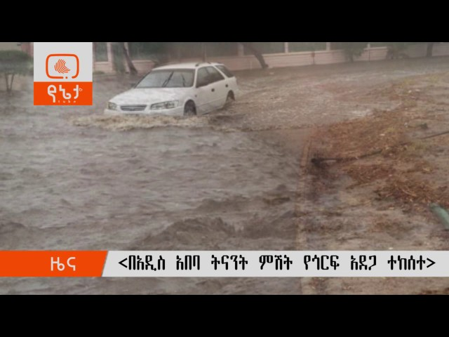 Heavy rain causes flash and flooding in Addis Ababa