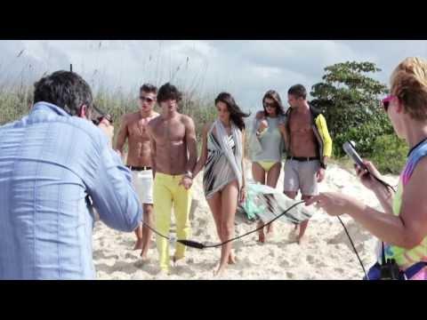 Marlon Teixeira – Behind the scenes Armani Exchange S/S 2013 (New)