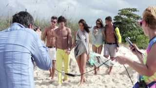 Marlon Teixeira - Behind the scenes Armani Exchange S/S 2013 (New)