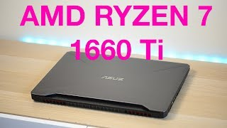 How Fast is a AMD Ryzen 7 & GTX 1660 Ti for Gaming? - ASUS Tuf Gaming FX505 Gaming Review 🔥🔥🔥
