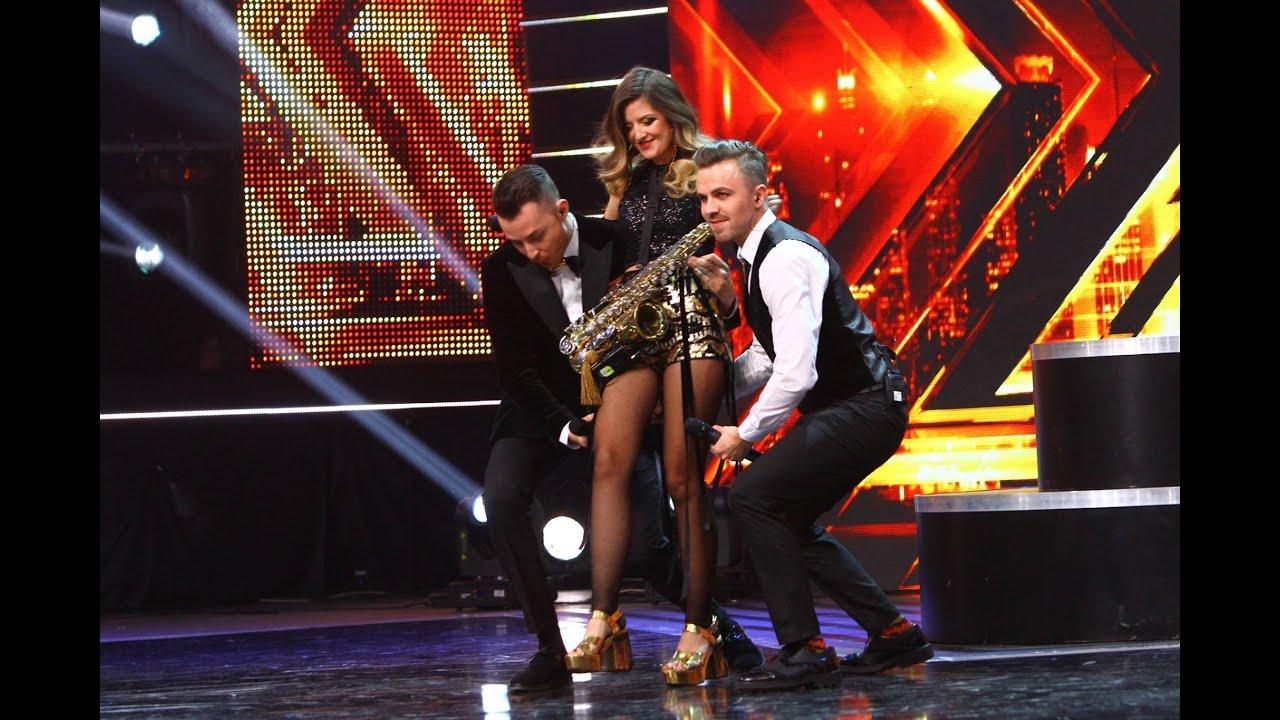 "Ruby - ""Stinge lumina"". Vezi interpretarea trupei B52, la prima Gală X Factor!"