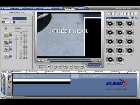 Ulead Video Studio 8 Tutorial