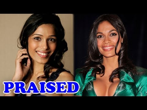 Freida Pinto praised by the Hollywood actress Rosario Dawson for her initiative | EXCLUSIVE